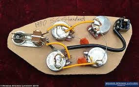 1970 gibson sg standard wiring harness pots cts 500k reverb gibson sg pre wired pickguard at Sg Wiring Harness
