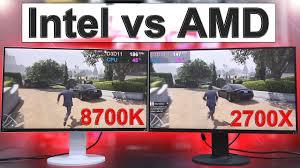 Intel Vs Amd 2018 Side By Side Comparison