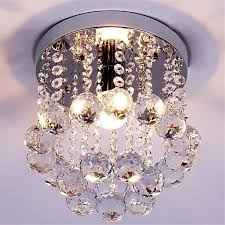mini crystal chandelier light fixture small clear amber k9 crystal re lamp ceiling lamp for