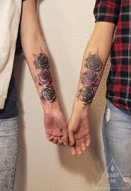 Tetování Růže Pro Dvě Sestry Tetování Tattoo