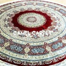 round rug turquoise decorative area rugs extraordinary ft oriental 8 kitchen brown