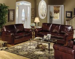 lodge style living room furniture design. classic western living room furniture design by dark brown leather sofa sets decals cowboy for lodge style