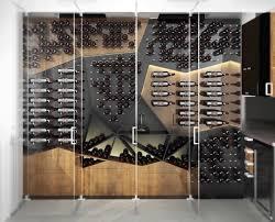 wine rack design. Fine Rack Unique Custom Wine Cellar Design With Glass Doors Inside Wine Rack Design 4