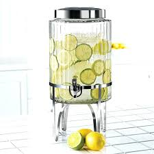 glass beverage dispenser with metal spigot others 7 gorgeous glass beverage dispenser with metal spigot ribbed