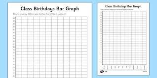 Class Birthdays Bar Graph Class Birthdays Bar Graph Graph