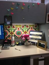 office cubicle curtain. Uncategorized Office Cubicle Curtains Awesome Love This Waverly Fabric Pinned Over The Covered Walls Pic For Curtain