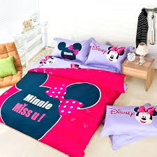 minnie mouse bedding twin cartoon