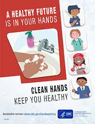 Hand Washing Chart Free Printable Posters Handwashing Cdc