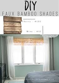 diy bamboo shades made from bamboo fencing this diy is so easy