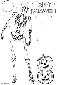 Small Picture skeleton coloring sheets skeleton coloring pages for kids free