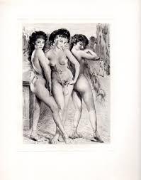 Hot Stuff Posers Nude Women Classic 1958 French Girls Paul