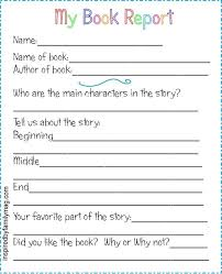 second grade book report template book report form for nd rd second grade book report template book report form for 2nd 3rd and 4th grade students school stuff when i have a toddler 1 year