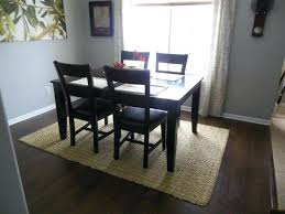 how big is a 5x7 rug furniture dining room rugs size under table attractive picture 6