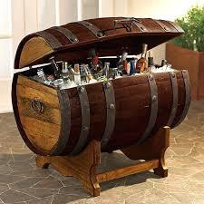 tequila barrel party cooler outdoor beer table beverage ideas re purposed pallet secret beer cooler outdoor