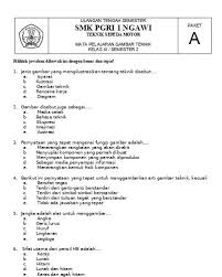 We did not find results for: Contoh Soal Gambar Teknik Semester Genap Contoh Soal Gambar Teknik Pdf Download Gratis