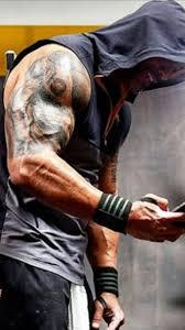 O Homem Mais Lindo Do Mundo A Perfeição Dwayne Johnson Tattoo