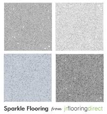 Cushion Flooring For Kitchen Details About Grey Sparkly Flooring Glitter Effect Vinyl Floor