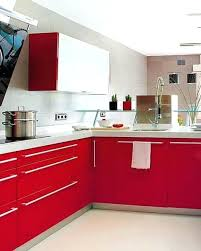 red and white kitchen red and white kitchen cabinets red white kitchen design red and white