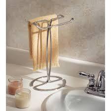 Bath towel hanger Wall Mounted Walmart Interdesign Axis Fingertip Towel Holder Walmartcom