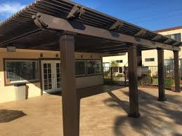 brown aluminum patio covers. Patio Cover San Diego Brown Aluminum Covers E