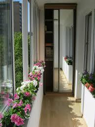 Pretty Balcony With Floral Decor