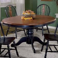sunset trading 48 inch round dining table with erfly leaf hayneedle