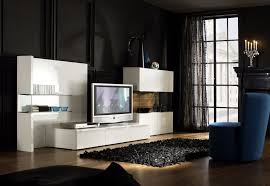 incredible contemporary furniture modern bedroom design. furniture interior modern flat tv on leveled cabinet design with apartments contemporary living room plan black wall white storage mount and incredible bedroom