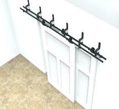 sliding cabinet door track kit display