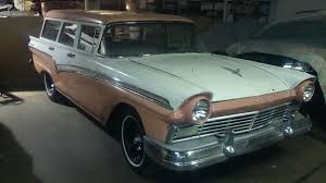 We Love Ford's, Past, Present And Future.: 1957 Ford Country Sedan