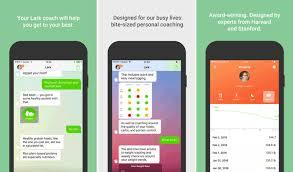 lark 24 7 health coach iphone and ipad app screenshot