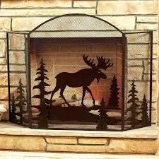 star fireplace screen moose fireplace screen texas star fireplace screen