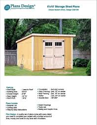 8x10 storage shed plans 8 x garden modern roof style