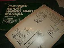 isuzu impulse 1990 isuzu impulse oversized wiring diagrams schematics manual sheets set