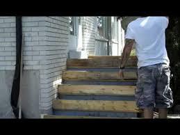 Diy concrete step Hill How To Pour Concrete Porch And Step Youtube How To Pour Concrete Porch And Step Youtube