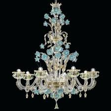 glass chandeliers glass chandelier 8 lights transpa gold with turquoise and green lead glass lamps south