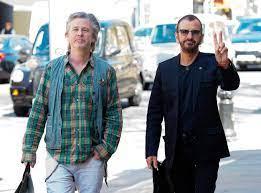 The Beatles' Ringo Starr, 75, looks ...