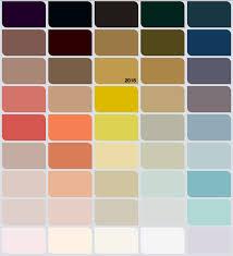 paleta de colores 2016