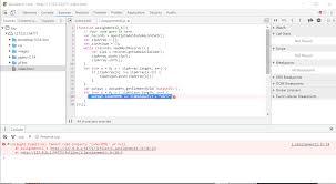 Why am I getting an error when putting self-invoking (IIFE) code ...