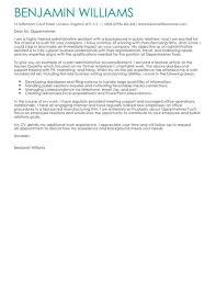 admin support cover letter administrative assistant cover letter examples for admin