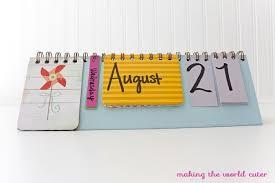 cute cards calendar