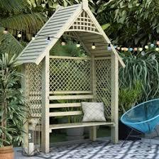 garden seating. Garden Benches Seating Wayfair