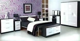 High Gloss Bedroom Furniture Photo 1 Romantic Decorating Ideas White ...