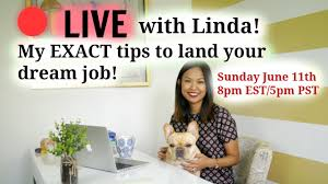 Linda Raynier Resume Sample 🔴 LIVE With Linda My EXACT Tips On What You Need To Do To Land 18