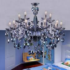 maria theresa chandelier light blue crystal lighting fixtures glass chandelir for living room bar bedroom candle chandelier crystal pendants chandelier