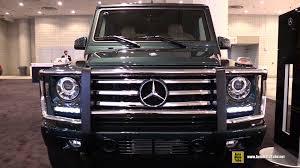 mercedes g wagon 2015 interior. Perfect 2015 2015 MercedesBenz GClass G550  Exterior And Interior Walkaround  New York Auto Show YouTube With Mercedes G Wagon C