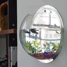 large size of wall decor home decoration pot wall hanging mount bubble aquarium bowl fish