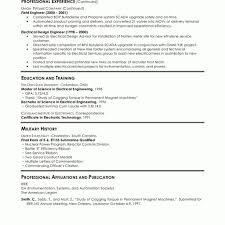 Resume Sample Electrical Engineer Resume Format For Experienced Electrical Engineers Fred Resumes 8