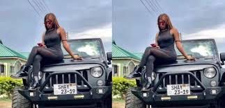 Wendy Shay shares photo of DVLA card to prove she customized her Jeep  Wrangler
