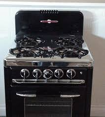 Black Apartment Size Vintage O Keefe Merritt Antique Gas Stove