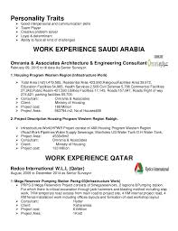 Mesmerizing Personal Traits In Resume 38 In Simple Resume With Personal  Traits In Resume